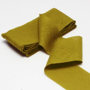 Cotton Bias Binding, Cloth, Mustard, 2.5m x 4cm, 1 Cotton Bias Binding, (SGB0069)